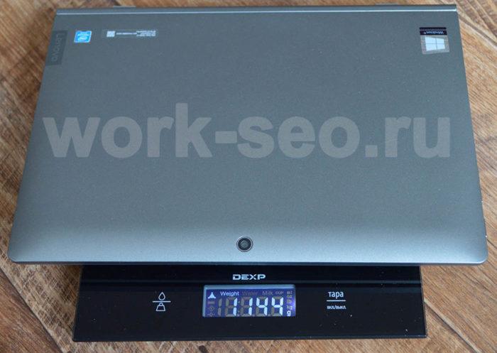 вес планшета в сборе Lenovo IdeaPad D330